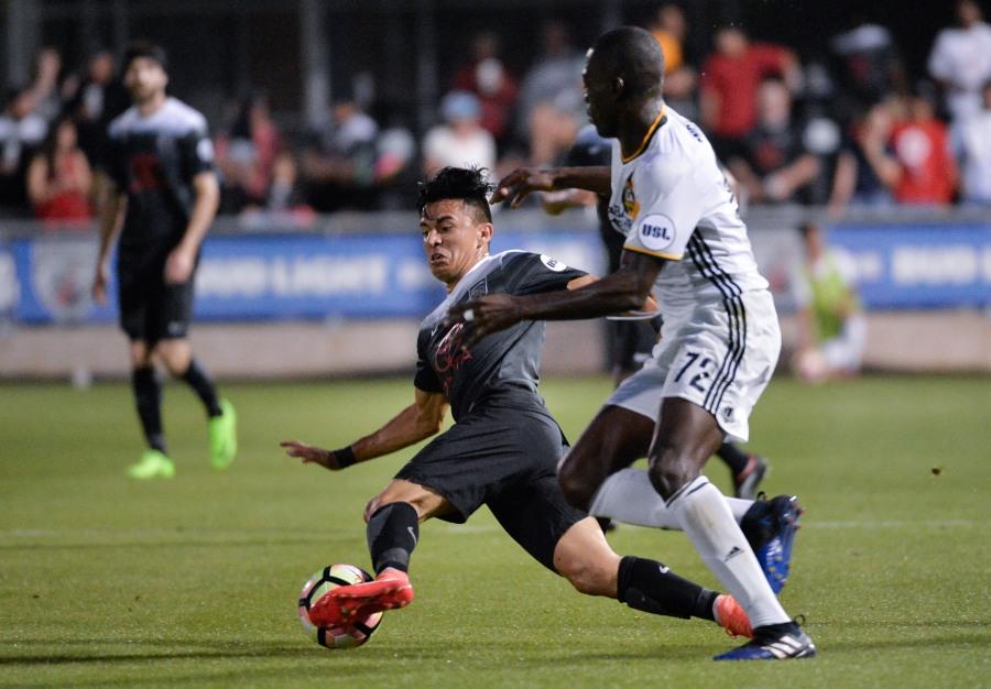 USL LA Galaxy II vs San Antonio FC